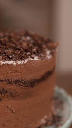 A little chili and a touch of fire add some drama to this awesome chocolate cake!