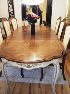 I Am Moving And Need To Sell My Vintage THOMASVILLE Dining Room Set