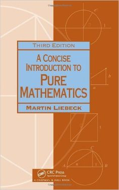 With its extremely developed capability to detect patterns in a concise introduction to pure mathematics third edition chapman hallcrc mathematics fandeluxe Gallery