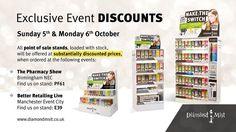 Exclusive show discounts