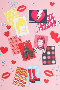 Looking for an interesting Valentine's Day card? Check out our really cool David Bowie valentines! You'll love them!