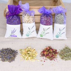 Add a scent to any linen storage space with dried petals of your favorite aroma. #green #ecofriendly #healthyplanet #environment #gifts #lifestyle #greenhome #gogreen #ourplanet