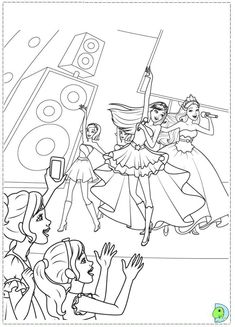 Keira And Toris Show Barbie Printable Interactive Online Coloring Pages For Kids To Color Print Have Fun This