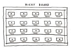 How to Make a Ricky Board: A Creative Exercise from David Lynch | Brain Pickings