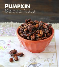 Pumpkin Spiced Nuts | Bare Roots