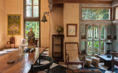 Lunaganga, country home of the late Sri Lankan architect Geoffry Bawa