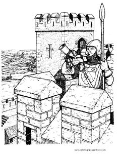 Knights Guard The Castle | Castles and Knights | Pinterest | Knight ...