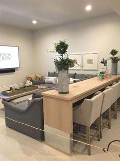 37 Trendy Home Renovation Modern Floor Plans Basement Makeover, Basement Renovations, Home Renovation, Home Remodeling, Basement Remodel Diy, Basement Living Rooms, Cozy Basement, Basement Bathroom, Basement Flooring