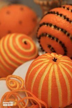 allianc: Апельсины могут стать прекрасным элементом декора Новогоднего стола.