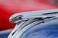 1950 Pontiac Chief Hood Ornament by Jill Reger