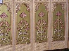 Related image Anaglypta Wallpaper, Fabulous Fabrics, Textiles, Curtains, Room, Murals, Image, Furniture, Walls