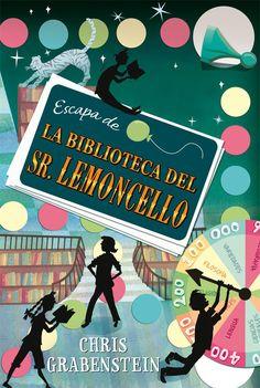 escapa de la biblioteca del sr. lemoncello