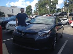 Congrats Joe! You are one of the first to get the Amazing looking & newly redesigned 2014 Toyota Corolla! Ardmore Toyota thanks you on behalf of Salesperson Q Azad!