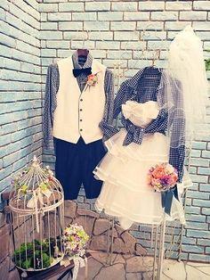 様々なコーディネート♡ |神戸ウェディングドレスショップ☆アールポッシュ【女の子はお姫様】 Casual Wedding Attire, Wedding Preparation, Boho Fashion, Fashion Design, Wedding Images, Wedding Groom, Bridal Hair, Dream Wedding, Short Dresses