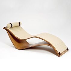 Su Chaise by Roberta Schilling, Designer, RS Collection Spa Furniture, Unique Furniture, Contemporary Furniture, Furniture Design, Deco Spa, Spa Lounge, Deck Chairs, Lounge Chairs, Room Chairs