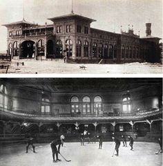 thepittsburghhistoryjournal:  1895 The first artificial-ice arena in the world, theSchenley Park Casino,home to hockey'sPittsburgh Keystones, opens its doors.