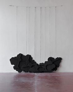 Untitled (Black Clouds) by Latifa Echakhch Black Clouds, All Black Sneakers, Original Artwork, Contemporary Art, Artsy, Sculpture, Gallery, All Black Running Shoes, Sculpting