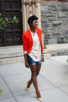 1 Girl, 4 Looks: Skinny Hipster's Nife Oluwole Loves Color