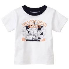 Hartstrings Baby-boys Infant Jersey Short Sleeve Ringer T-Shirt $24.00
