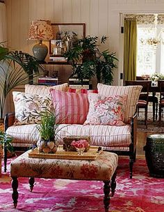 Use GMas old wooden loveseats for living room. paint loveseats in cottage white chalk paint or restain in a dark mahoganey color