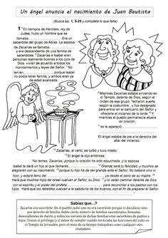 El Rincón de las Melli: EL EVANGELIO PARA COMPLETAR (Juan Bautista y prime...