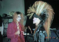 Yoshiki and Toshi. X Japan