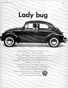 British VW Ad - Lady Bug