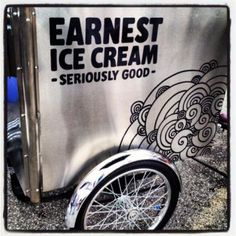 Earnest Ice Cream Cart Vancouver #ice #cream
