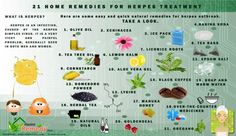 21 Remedies for herpes