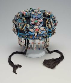 Woman's headdress (tien tzu), Phoenix crown, Chinese, Qing dynasty, 19th century