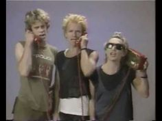 "The Police ""I Want My MTV"" (1983) - TV promotion clip. Also featuring Pat Benatar and Pete Townsend."