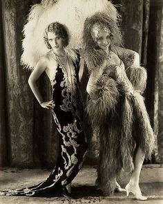 Adrienne Dore (Goldwyn Girl) & Virginia Bruce, Ziegfeld Follies Girl, 1929