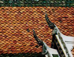 Amazing gables ~ The Grand Palace, Bangkok, 1995