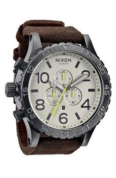 Nixon 'The 51-30 Chrono' Watch available at #Nordstrom