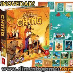 ¡Otra novedad que arriba a puerto! Enrólate en la tripulación de la temible Madame Ching y medra en el escalafón de su flota pirata con este apasionante juego estratégico de cartas diseñado por Bruno Cathala.
