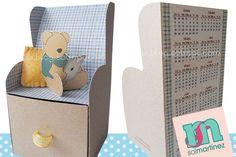 Desktop calendar 2015 armchair box
