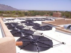 DIY Solar Water Heater happening now, so why can't a car have say seven solar panals on the outside roof of the car for of it's energy, answer: It CAN but ...