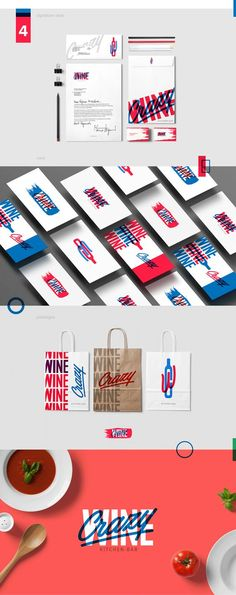 Crazy Wine Gastro Bar Branding by Erik Musin | Fivestar Branding Agency – Design and Branding Agency & Curated Inspiration Gallery