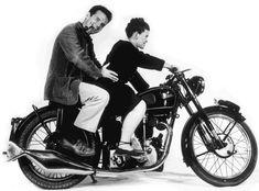 Charles & Ray Eames #motorcycle