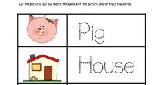 3 Little Pigs Printable Activities A Little Pinch of Perfect.pdf Preschool Literacy, Free Preschool, Preschool Themes, 3 Little Pigs Activities, Free Activities, Fairy Tales Unit, Teacher Bags, Summer Reading Program, Creative Curriculum
