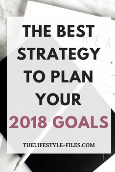 How to plan a year ahead New Year's resolutions / goals / work / business / organizing / productivity