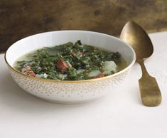 portugese potato and kale soup