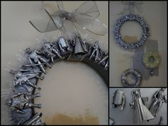 Star Wars Action Figure Wreath!  @Michael Dussert Harrison will you pretty pretty please make me one for our house??