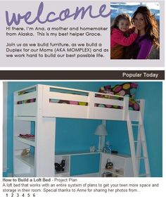 Awesome Pinterest case study - How an Alaskan Mom Brings Millions to Her Carpentry Blog