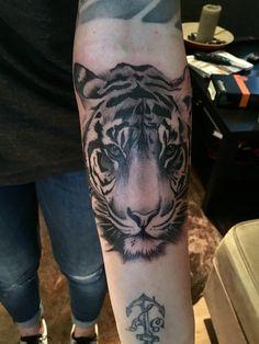 Tiger Tattoo arm female