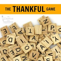 Cindy deRosier: My Creative Life: The Thankful Game