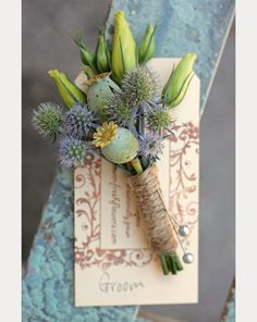 Over 40 Fabulous Boutonnières You're Gonna Love! ~ we ❤ this! moncheribridals.com