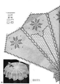 World Crochet Tablecloth 6 Filet Crochet, Crochet Mat, Crochet Dollies, Crochet Doily Patterns, Crochet Diagram, Crochet Round, Crochet Home, Thread Crochet, Crochet Stitches