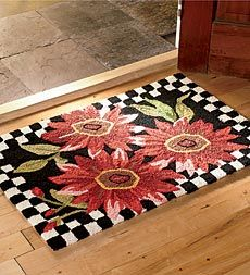Shop Wind Spinners Garden Decor and Wall Art - Best Rugs - Ideas of Best Rugs - Hand Hook Rugs Rug Hooking Designs, Rug Hooking Patterns, Punch Needle Patterns, Latch Hook Rugs, Rug Inspiration, Hand Hooked Rugs, Braided Rugs, Penny Rugs, Cool Rugs