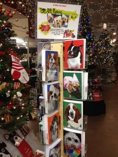 Wet Nose Greeting cards at Valley View Farms in Cockeysville, MD.